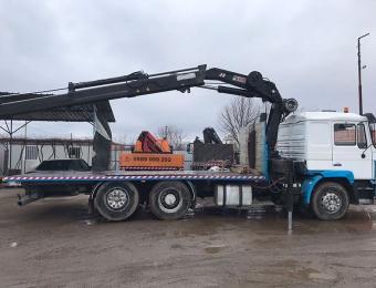 Камион-с-кран-с-товароносимост-до-15-тона-на-фирма-Рем-Транс-ООД