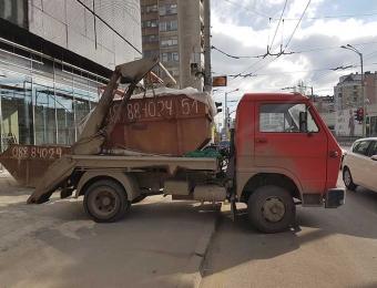 Извозване на строителни отпадъци с контейнери 1