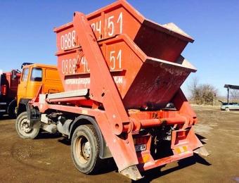 Извозване на строителни отпадъци с контейнери 4