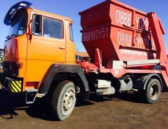 Извозване на строителни отпадъци с контейнери 5