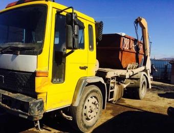 Камион за извозване на строителни отпадъци 2