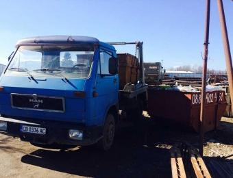 Камион за извозване на строителни отпадъци 3